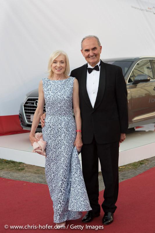 VIENNA, AUSTRIA - JUNE 26: guests attend the gala event 450 years Spanische Hofreitschule on June 26, 2015 in Vienna, Austria.  (Photo by Chris Hofer/Getty Images)