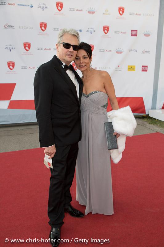 VIENNA, AUSTRIA - JUNE 26: Herbert Foettinger and Sandra Cervic attend the gala event 450 years Spanische Hofreitschule on June 26, 2015 in Vienna, Austria.  (Photo by Chris Hofer/Getty Images)