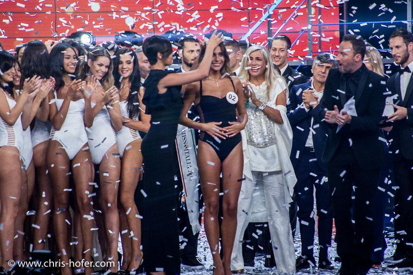Miss Italia 2016 - Finale Nazionale, Foto: Chris Hofer Fotografie & Film, Bild zeigt: Miss Italia 2016 - Rachele Risaliti