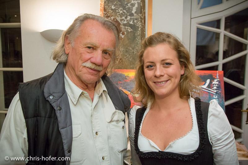 AMREF Black & White Charity-Gala im Gwandhaus Salzburg, 2014-05-16; Foto: Chris Hofer; Bild zeigt: Franz Buchrieser, Katharina Gössl