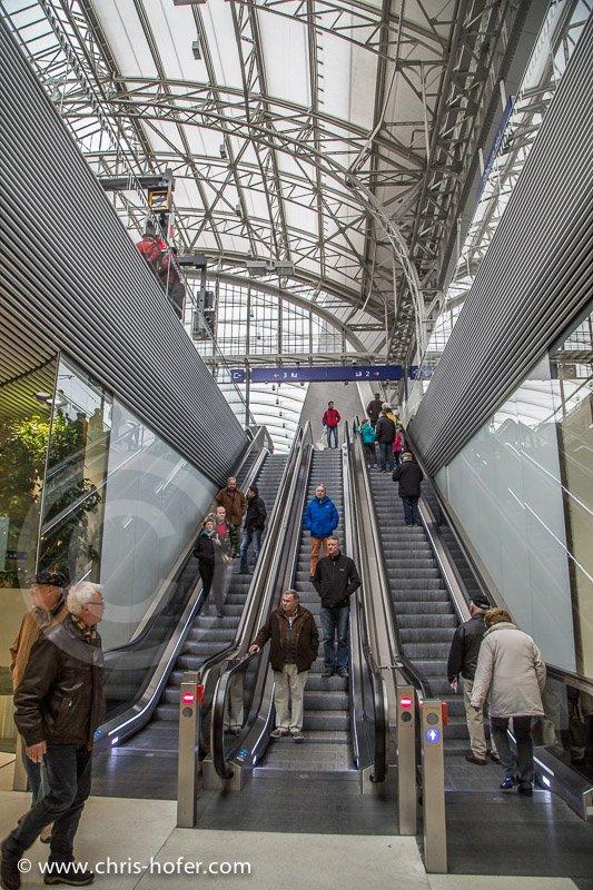 Feierliche Eröffnung des Hauptbahnhof Salzburg, 2014-11-07, Foto: Chris Hofer