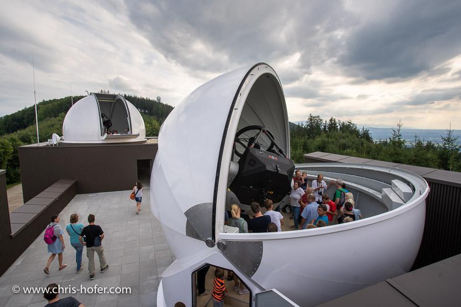 Eröffnung VEGA Sternwarte Haunsberg 11.08.2018 Foto: Chris Hofer, www.chris-hofer.com