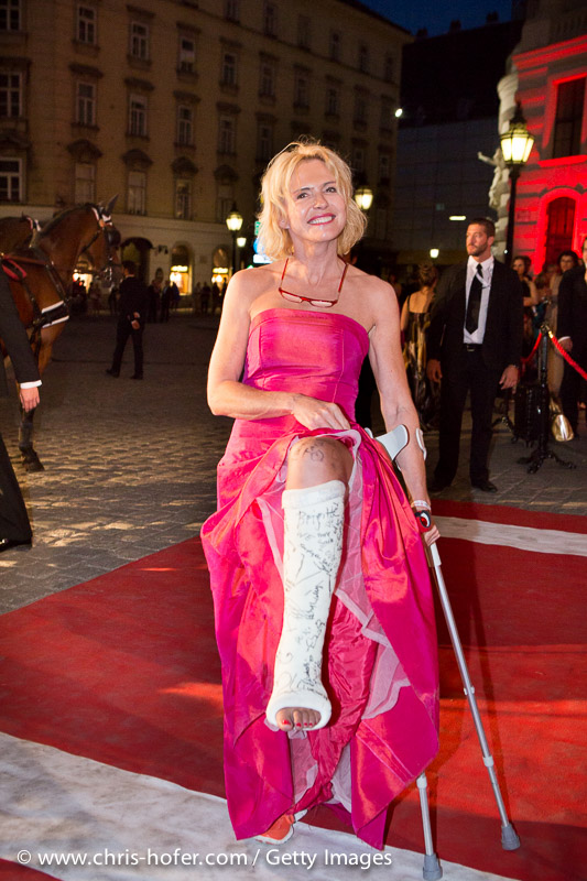VIENNA, AUSTRIA - JUNE 26: Eva Wegrostek attends the Fete Imperiale 2015 on June 26, 2015 in Vienna, Austria.  (Photo by Chris Hofer/Getty Images)