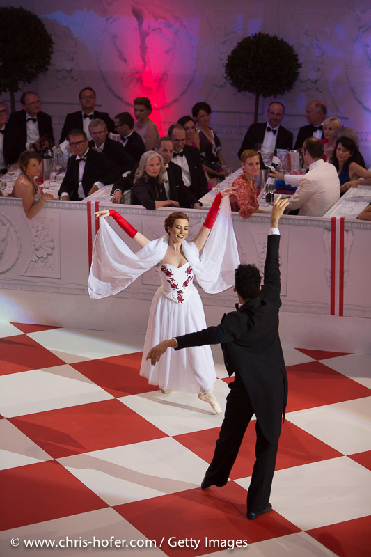 VIENNA, AUSTRIA - JUNE 26: Performance at the Fete Imperiale 2015 on June 26, 2015 in Vienna, Austria.  (Photo by Chris Hofer/Getty Images)