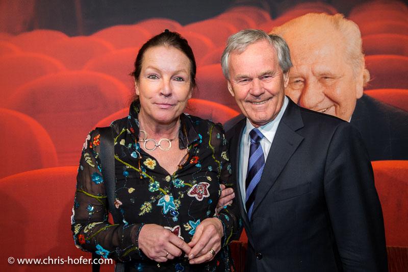 VIENNA, AUSTRIA - MARCH 19: Dieter Pochlatko and his wife Brigitte attend Karl Spiehs 85th birthday celebration on March 19, 2016 in Vienna, Austria. (Photo by Chris Hofer/Getty Images) *** Local Caption *** Dieter Pochlatko