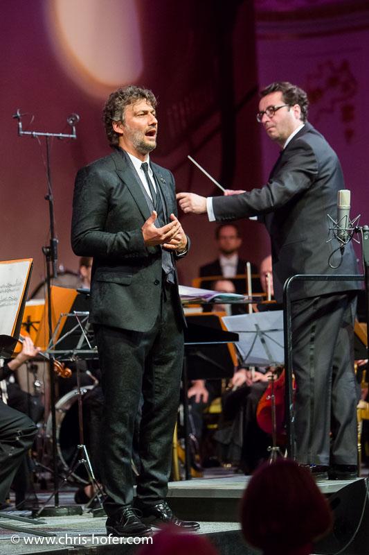 VIENNA, AUSTRIA - MARCH 19: Tenor Jonas Kaufmann performs at Karl Spiehs 85th birthday celebration on March 19, 2016 in Vienna, Austria. (Photo by Chris Hofer/Getty Images)