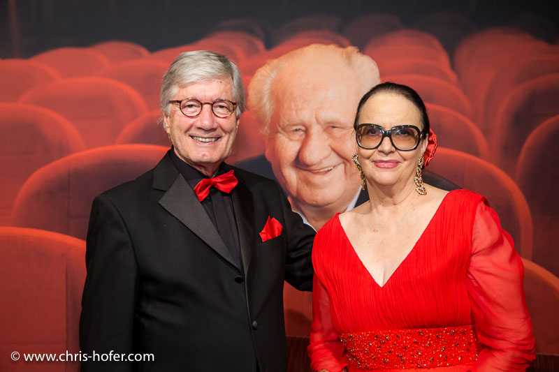 VIENNA, AUSTRIA - MARCH 19: Christian Wolff and his wife Marina attend Karl Spiehs 85th birthday celebration on March 19, 2016 in Vienna, Austria. (Photo by Chris Hofer/Getty Images)