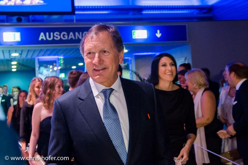 Leonidas Sportgala der Salzburger Nachrichten, Amadeus Terminal 2, 06.04.2017 Foto: Chris Hofer, Bid zeigt: Skilegende Franz Klammer
