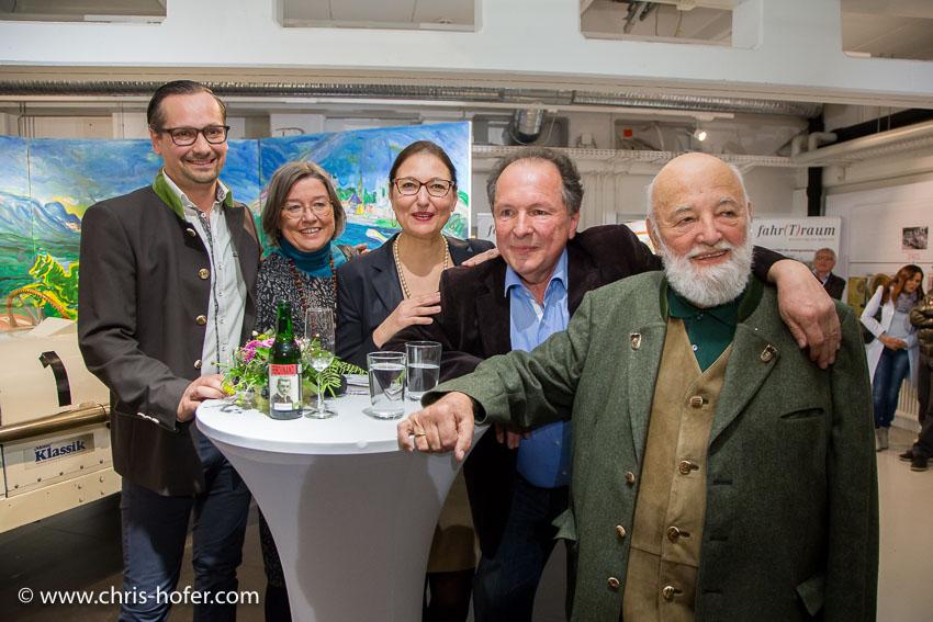fahr(T)raum Mattsee Vernissage Sonderausstellung Johann Weyringer 10.03.2017 Foto: Chris Hofer