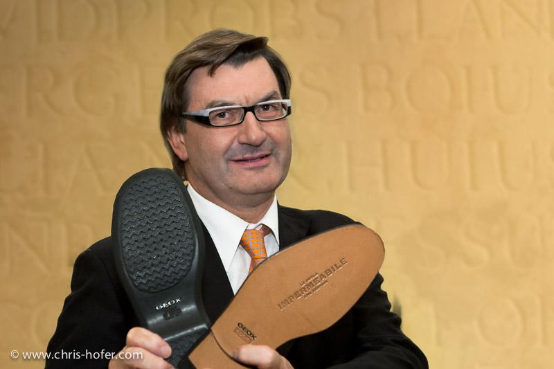 Geox-Gründer Mario Moretti Polegato