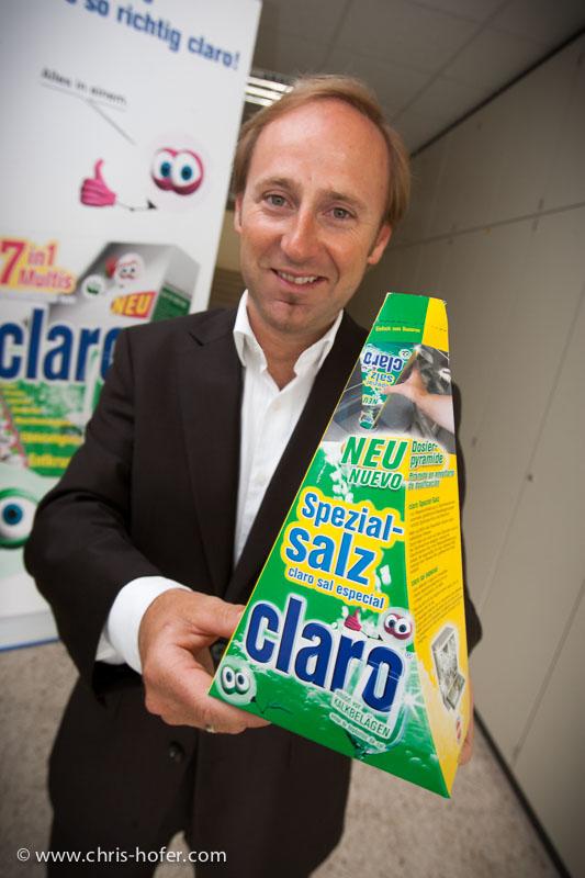 Claro-Gründer Josef Dygruber