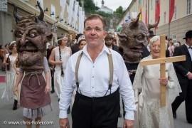 Bilder :: Umzug zur Jedermann Aufführung - Salzburger Festspiele 2015