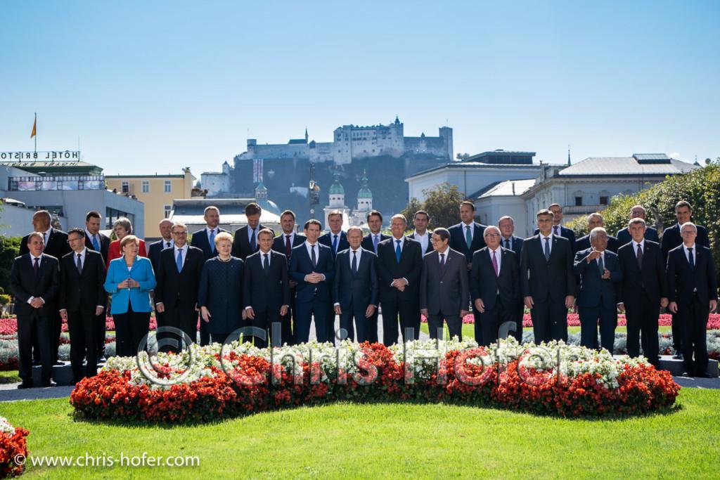 Bilder - EU-Gipfel Salzburg 2018